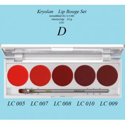 Kryolan - Sminkecset  lapos  N.12  3612