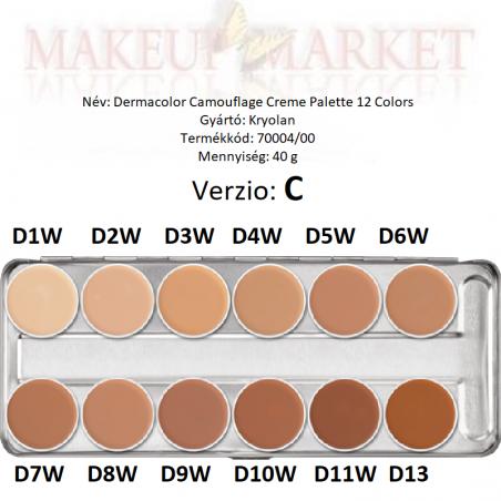 Kr - DermaColor  Camouflage  alapozó 4 ml  75005