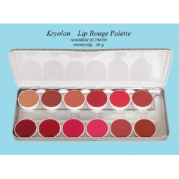 Kr Lip Rouge Palette 12...