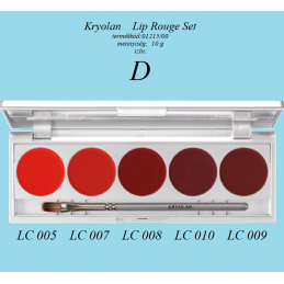 Kr Lip Rouge Set 5 szín  1215