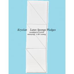 Kr Latex Sponge Wedges  1449