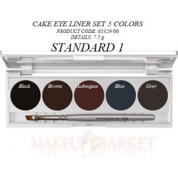 Kr Cake Eye Liner Set    5329