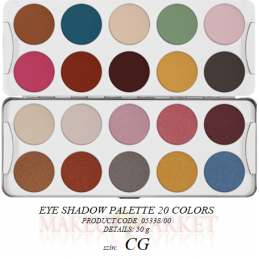 Kr Eye Shadow Palette 50 g...