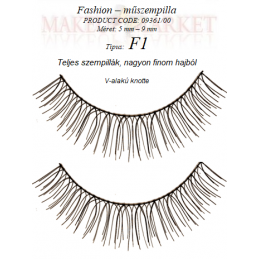 Kr Fashion – műszempilla 9361