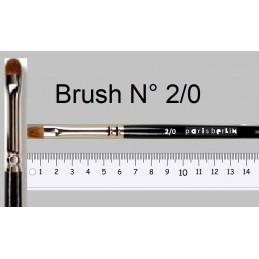PB Brush N° 2/0 szemhéjecset