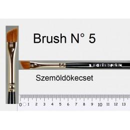 PB Brush N° 5 szemöldökecset