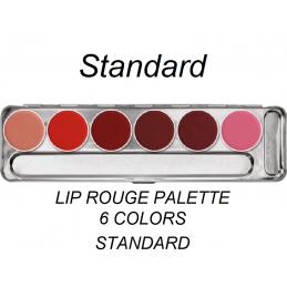 Kr Lip Rouge Palette 6 szín...